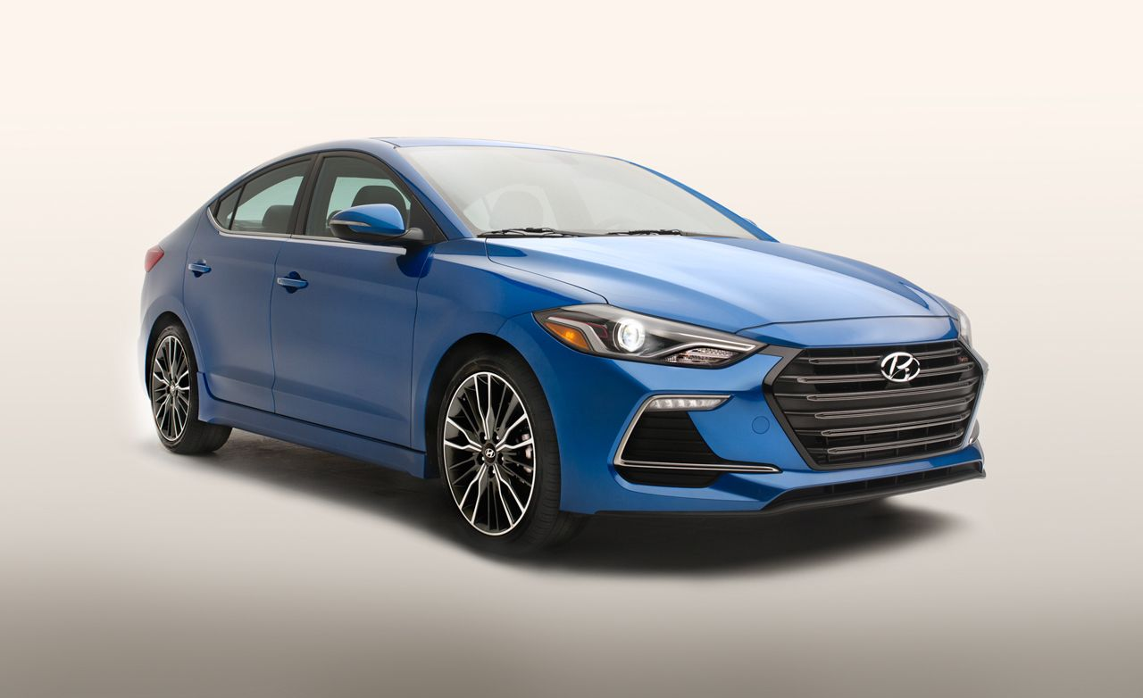 2017 hyundai elantra sport official photos and info news car and driver