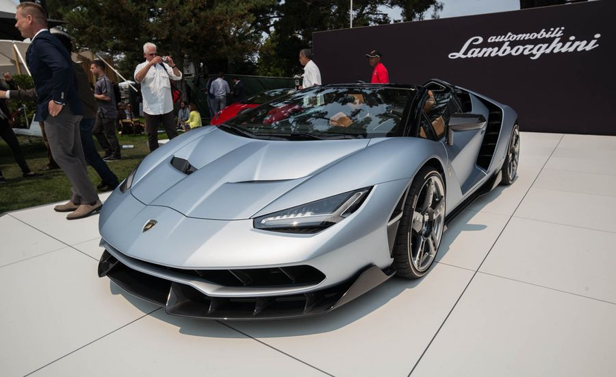 2017 Lamborghini Centenario Roadster Doesn't Surprise, But Still Wows