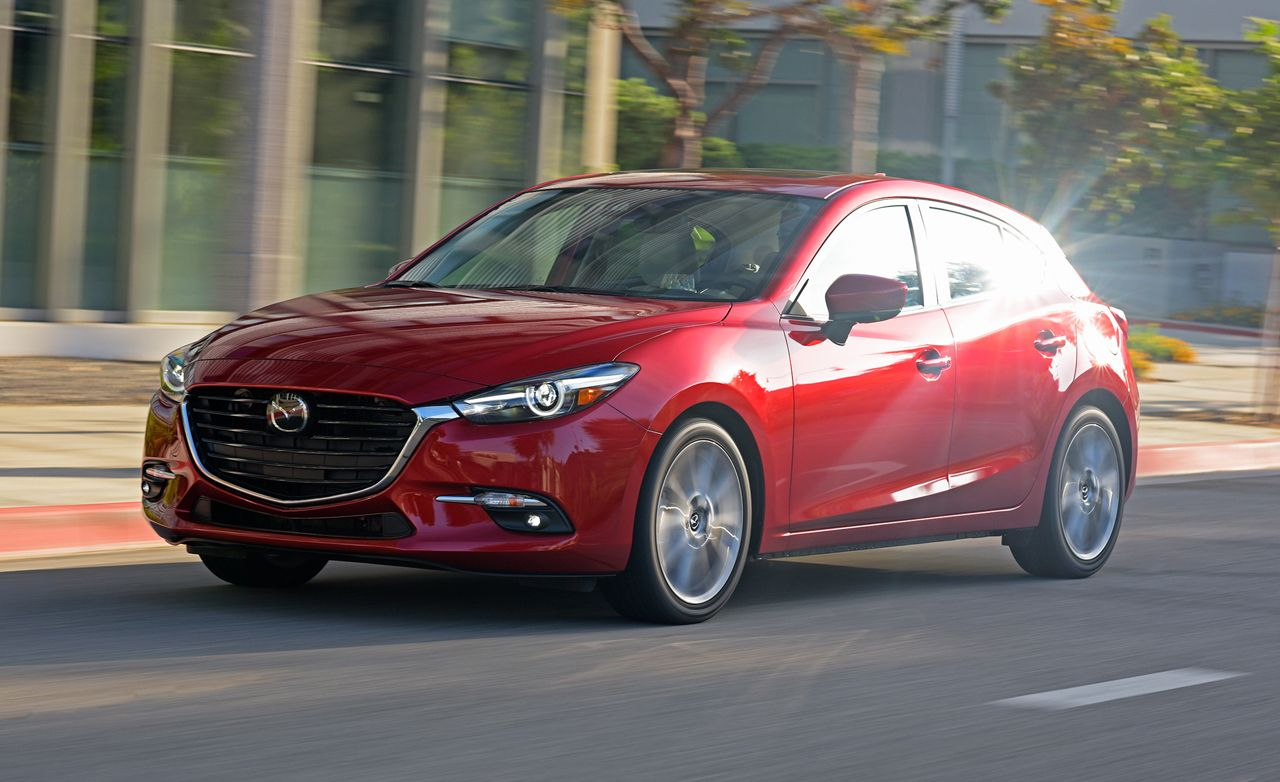 Mazda 3 models 2017