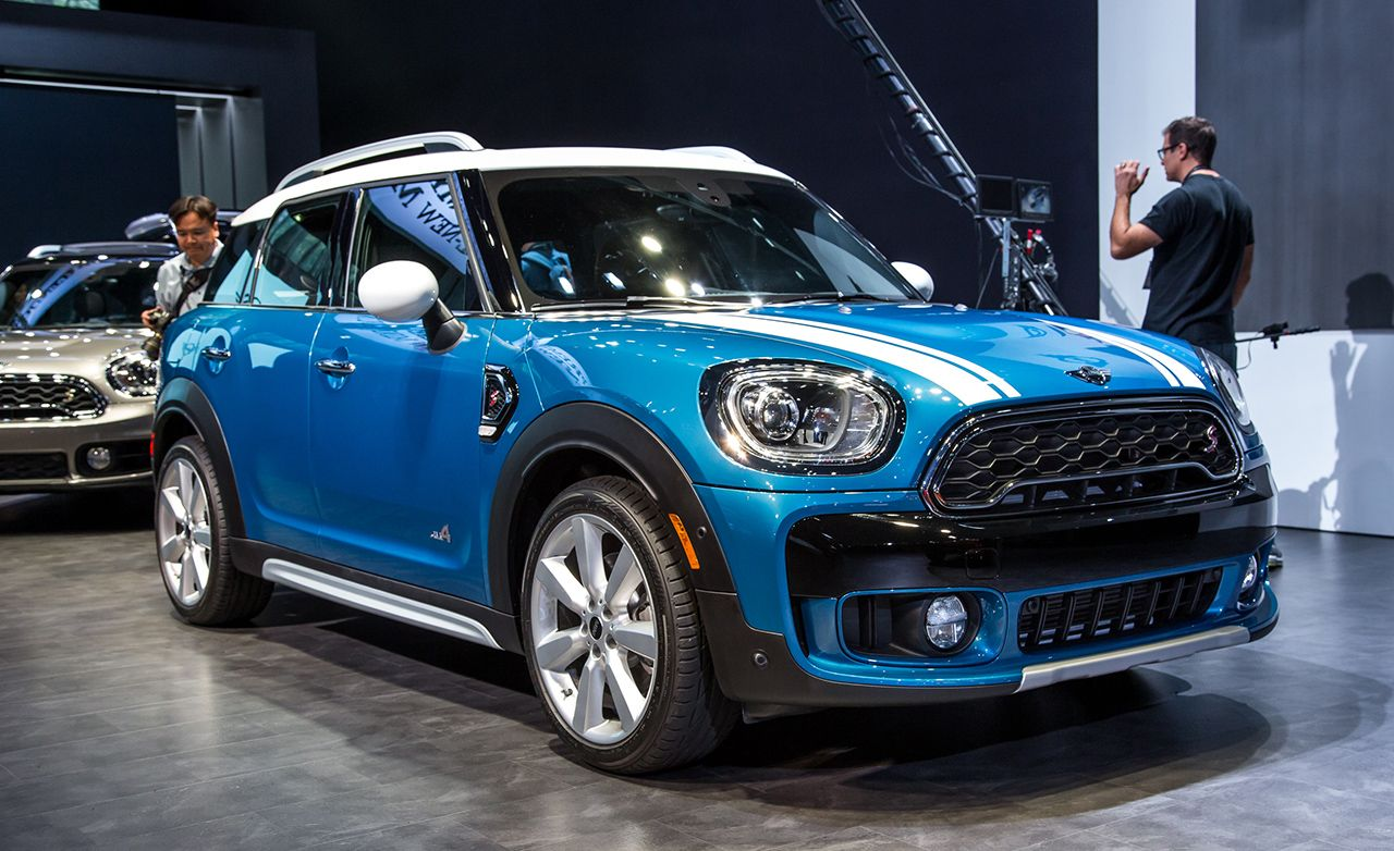 2017 mini countryman the big mini gets bigger