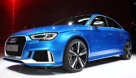 2018 Audi RS3 Sedan: 400 HP, Five Cylinders, Coming to the U.S.