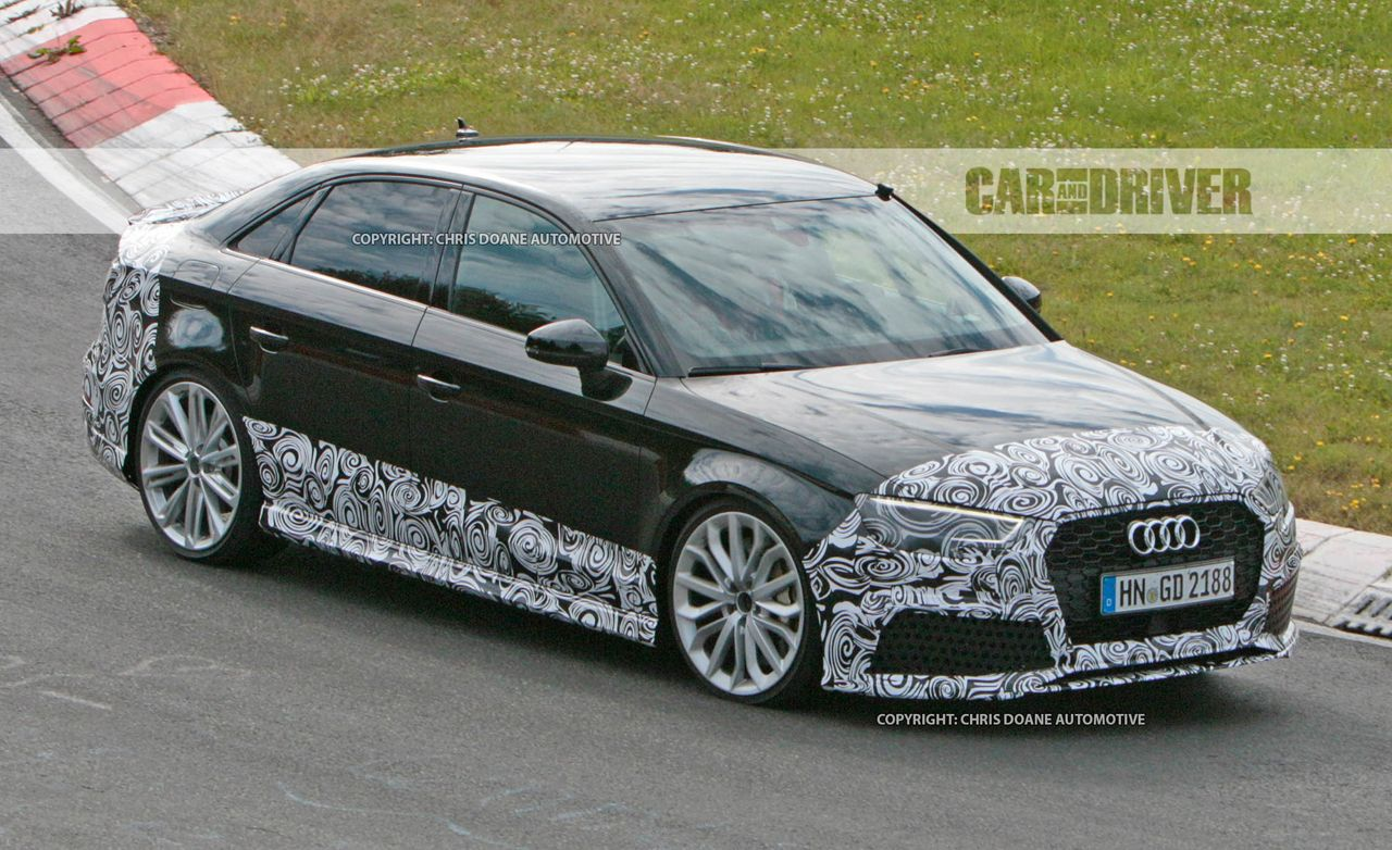 2018 Audi RS3 Sedan Spied: Small But Extremely Mighty