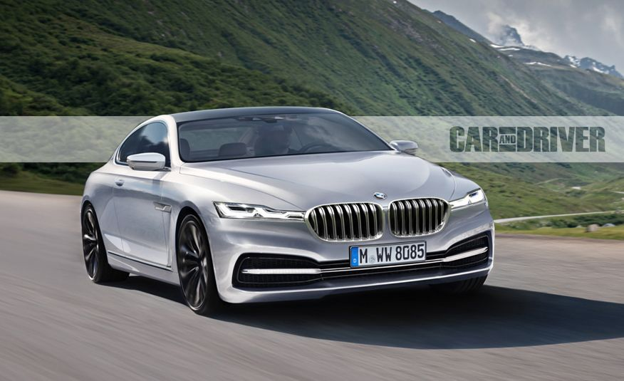 2018 BMW 8-series Spied: A Big, Bold Luxury Two-Door