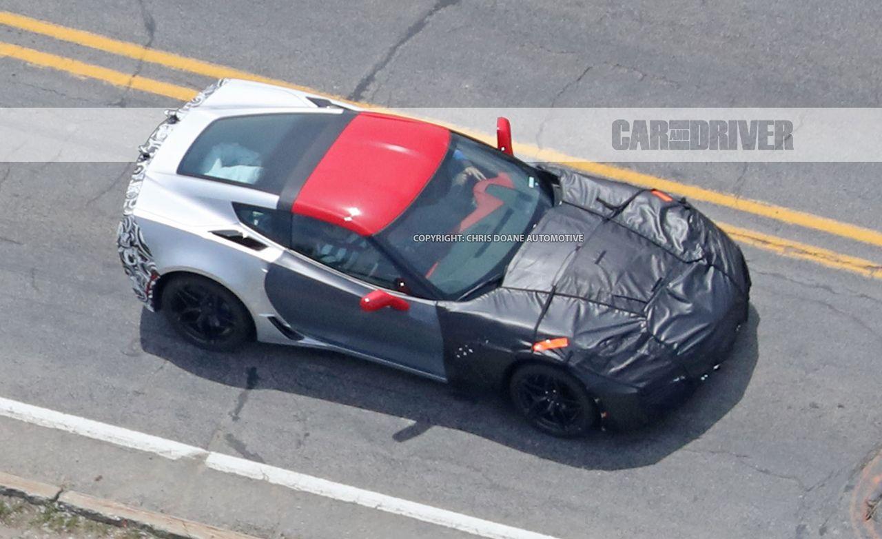 2018 Chevrolet Corvette Zr1 Spied News Car And Driver