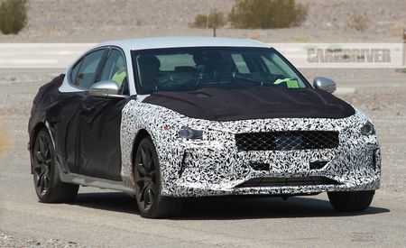 2018 Genesis G70 Spied: The Koreans Take Aim at the 3-series