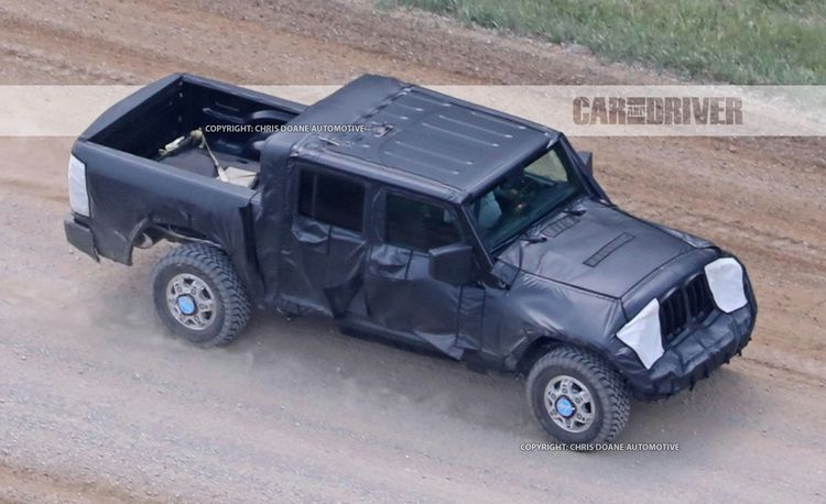 2018 Jeep Wrangler Pickup Spied: Send In the Mules!