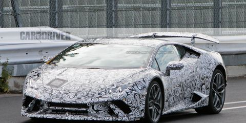 2018 Lamborghini Huracan Superleggera Spied 8211 News 8211 Car