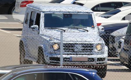 2018 Mercedes-Benz G-Wagen Spied!