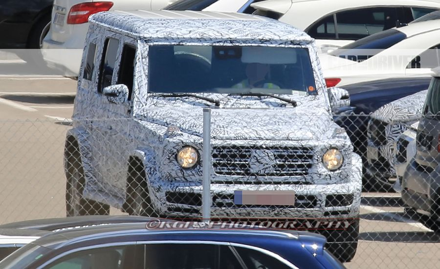 2018 mercedes benz g wagen spy photos news car and driver for How much is a mercedes benz oil change