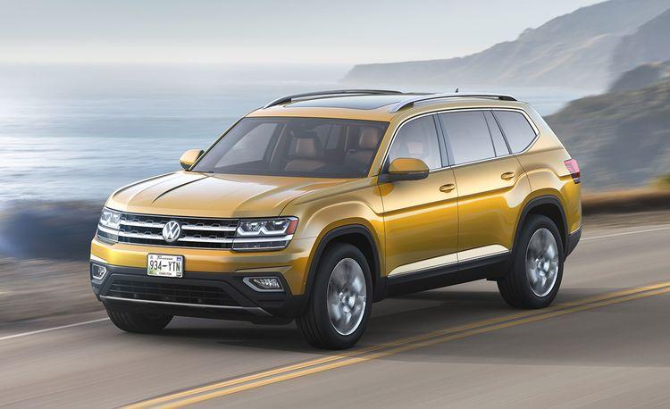 2018 Volkswagen Atlas: VW's Three-Row SUV for America Finally Arrives