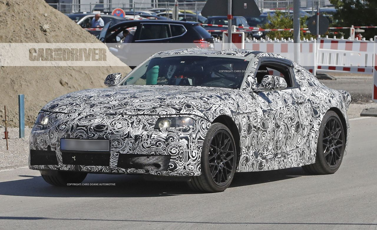 2019 Toyota Supra Spy Photos News Car And Driver