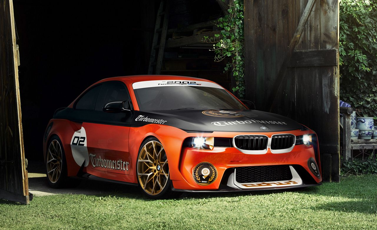 BMW 2002 Hommage Concept: Turbomeister Edition