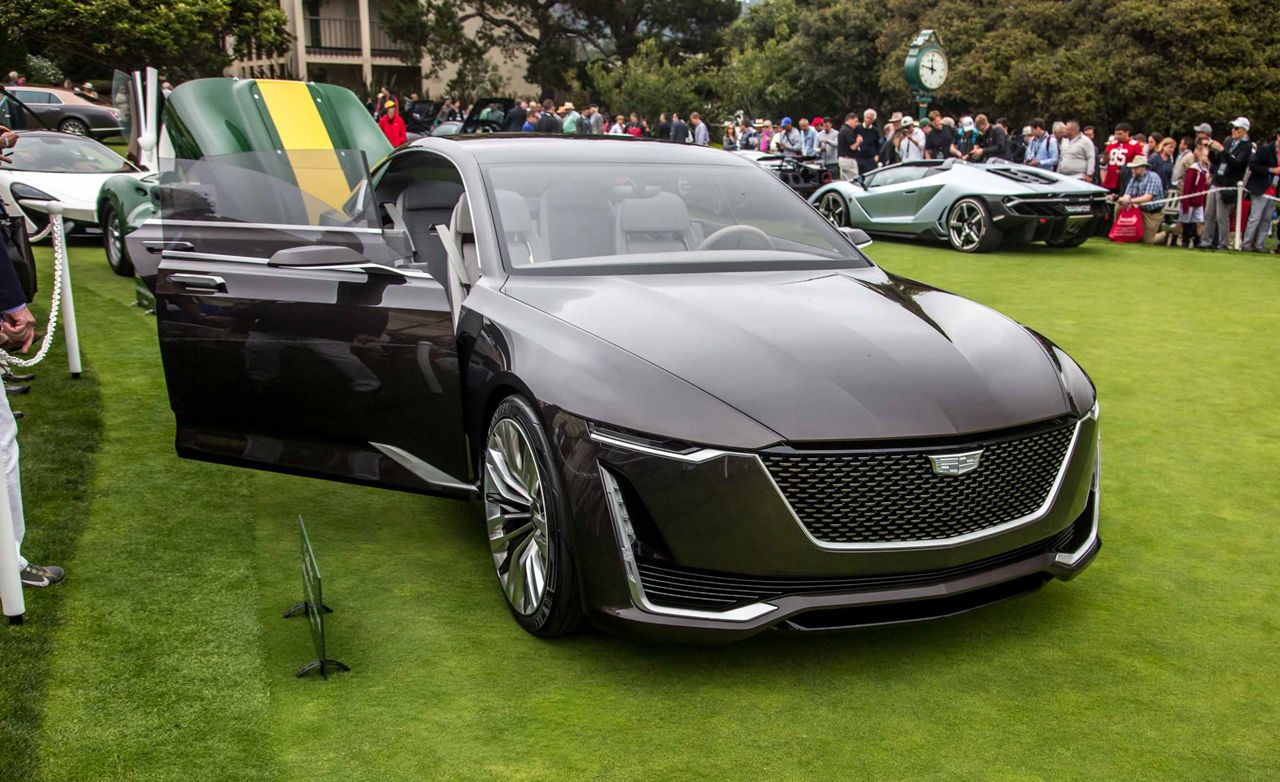 Cadillac concept vehicles