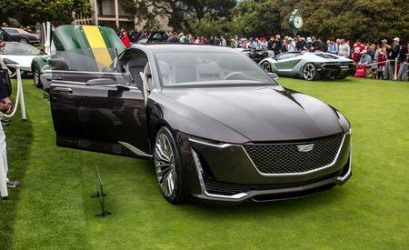 Cadillac Escala Concept: It'll Play Beyond Pebble Beach