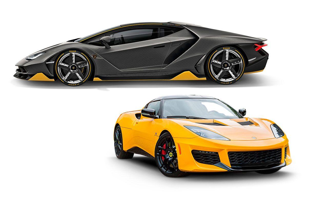 New Cars For 2017: Lamborghini And Lotus
