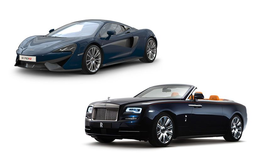 New Cars for 2017: McLaren and Rolls-Royce