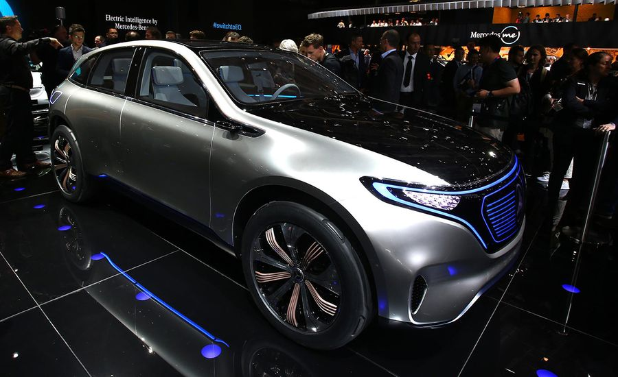 Mercedes-Benz Generation EQ Concept: The All-Electric Future Is Now, But Not Quite Yet