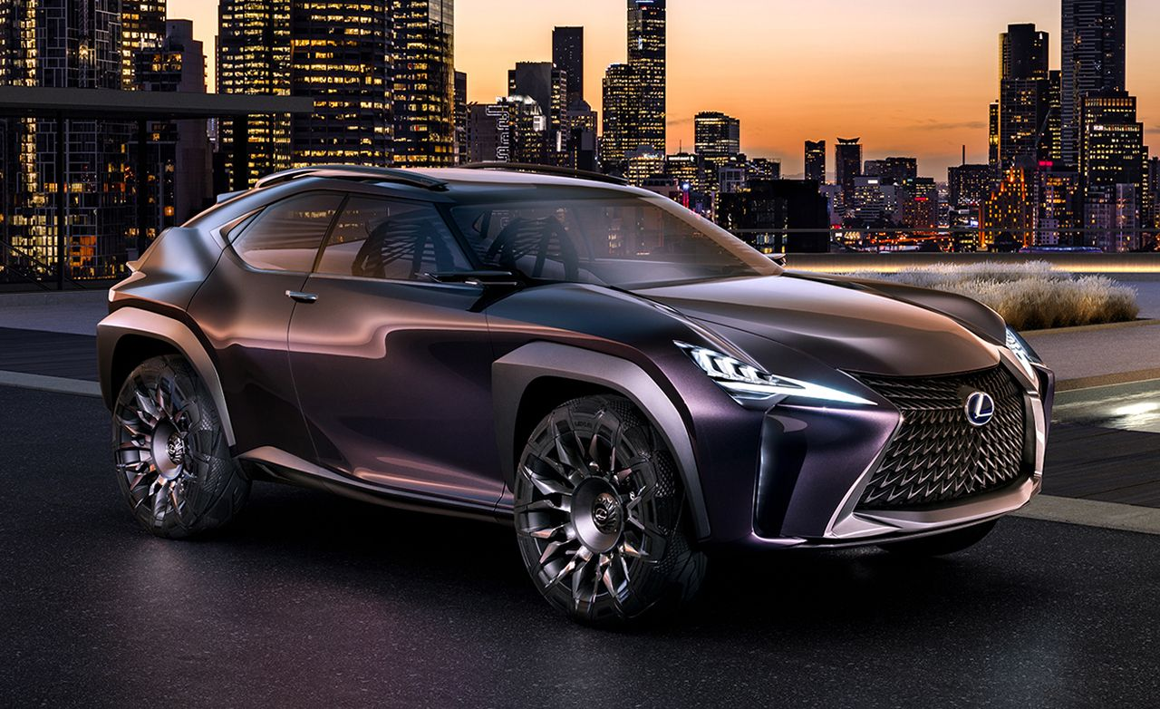 official photos and info: lexus ux concept | news | car and driver
