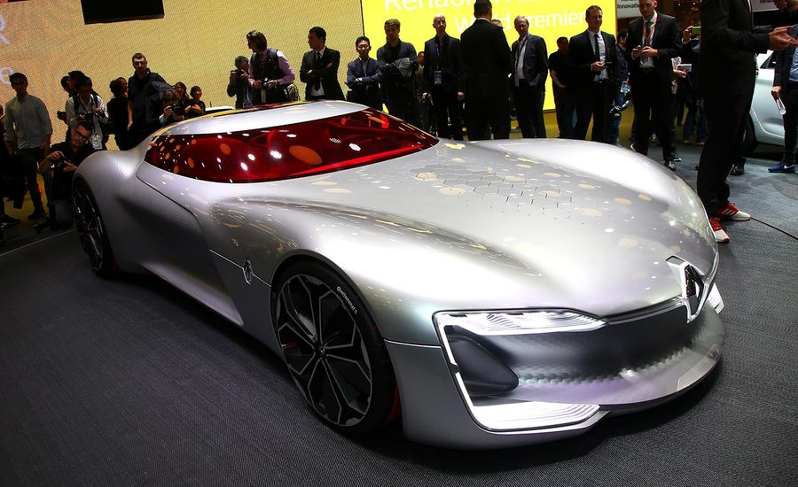 Renault Trezor Concept: Dream Cars Are Made Like This