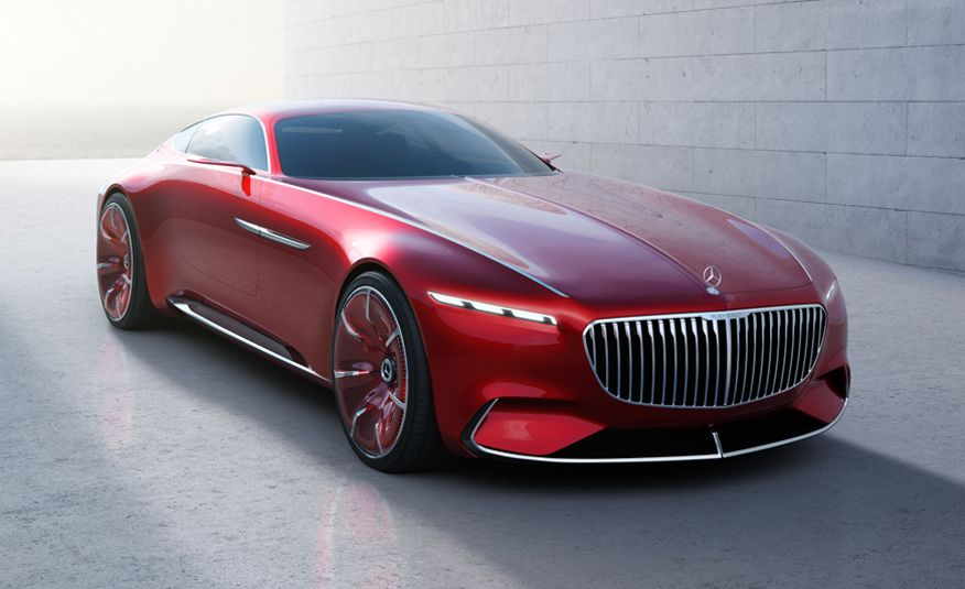 Vision Mercedes-Maybach 6 Concept: As Beautiful as Any Benz Before