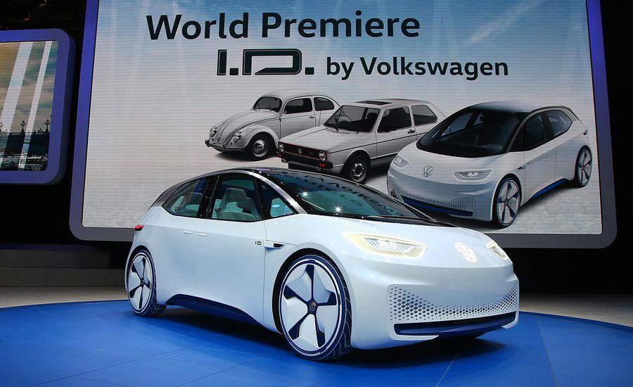 Volkswagen I.D. EV Concept: A Long-Range EV That's a Ways Away