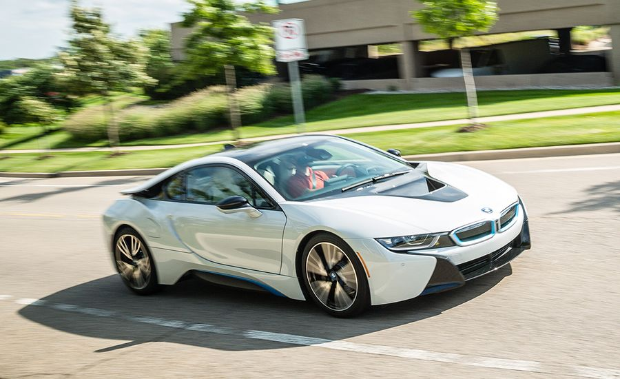 2016 bmw i8 test review car and driver. Black Bedroom Furniture Sets. Home Design Ideas