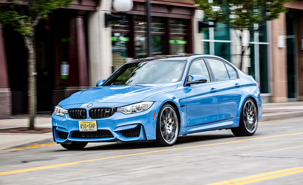 Bmw M3 Reviews >> 2016 Bmw M3 Sedan Dct Competition Package Test Review Car And Driver