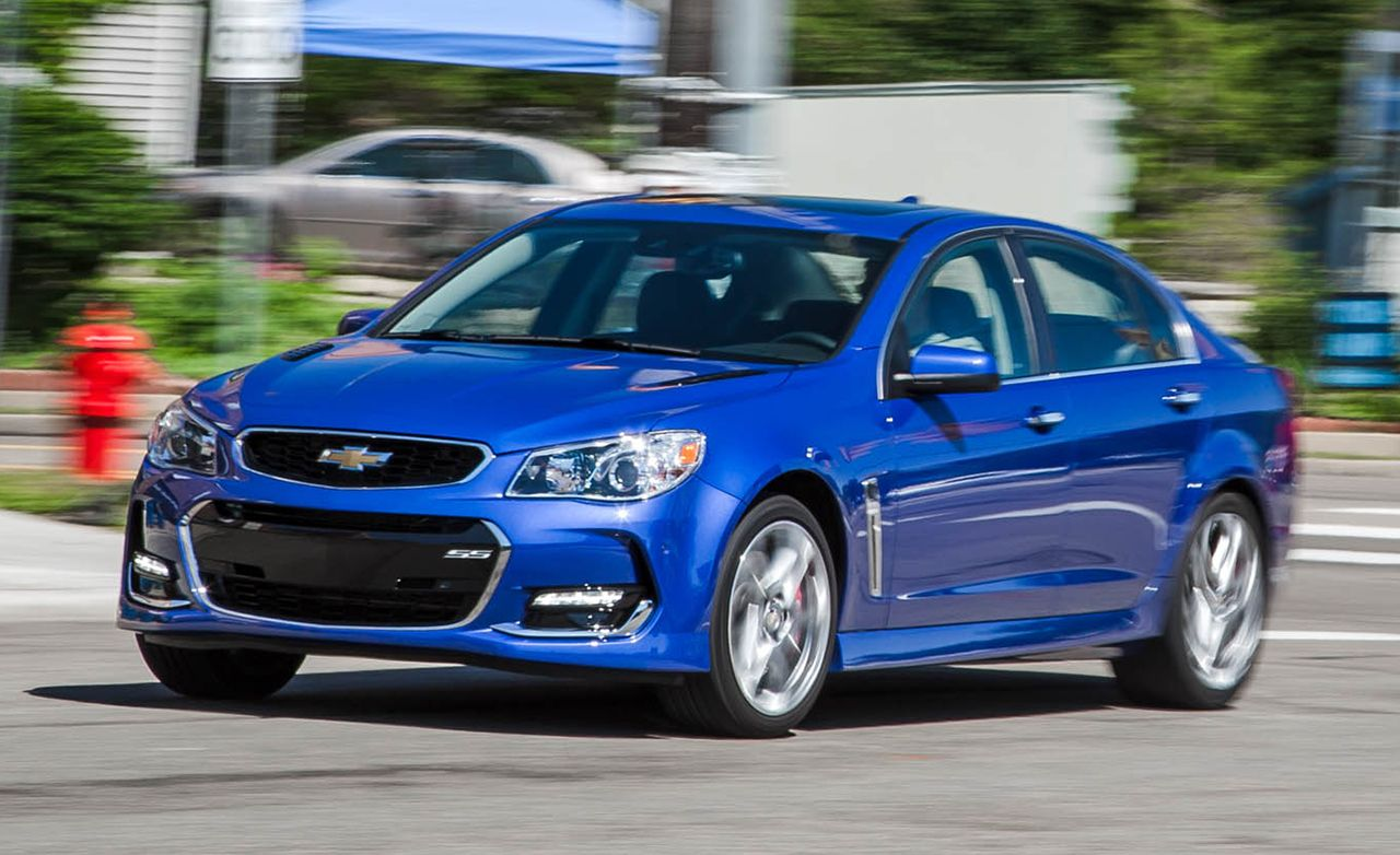 2016 chevrolet ss quick take review car and driver. Black Bedroom Furniture Sets. Home Design Ideas