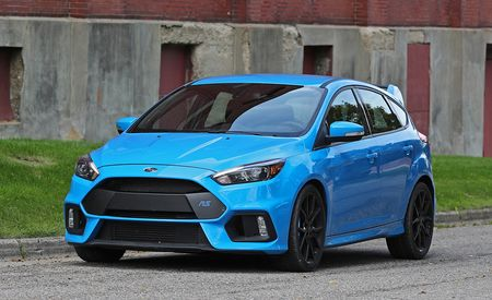 Ford Focus RS with Michelin Pilot Sport Cup 2 Tires