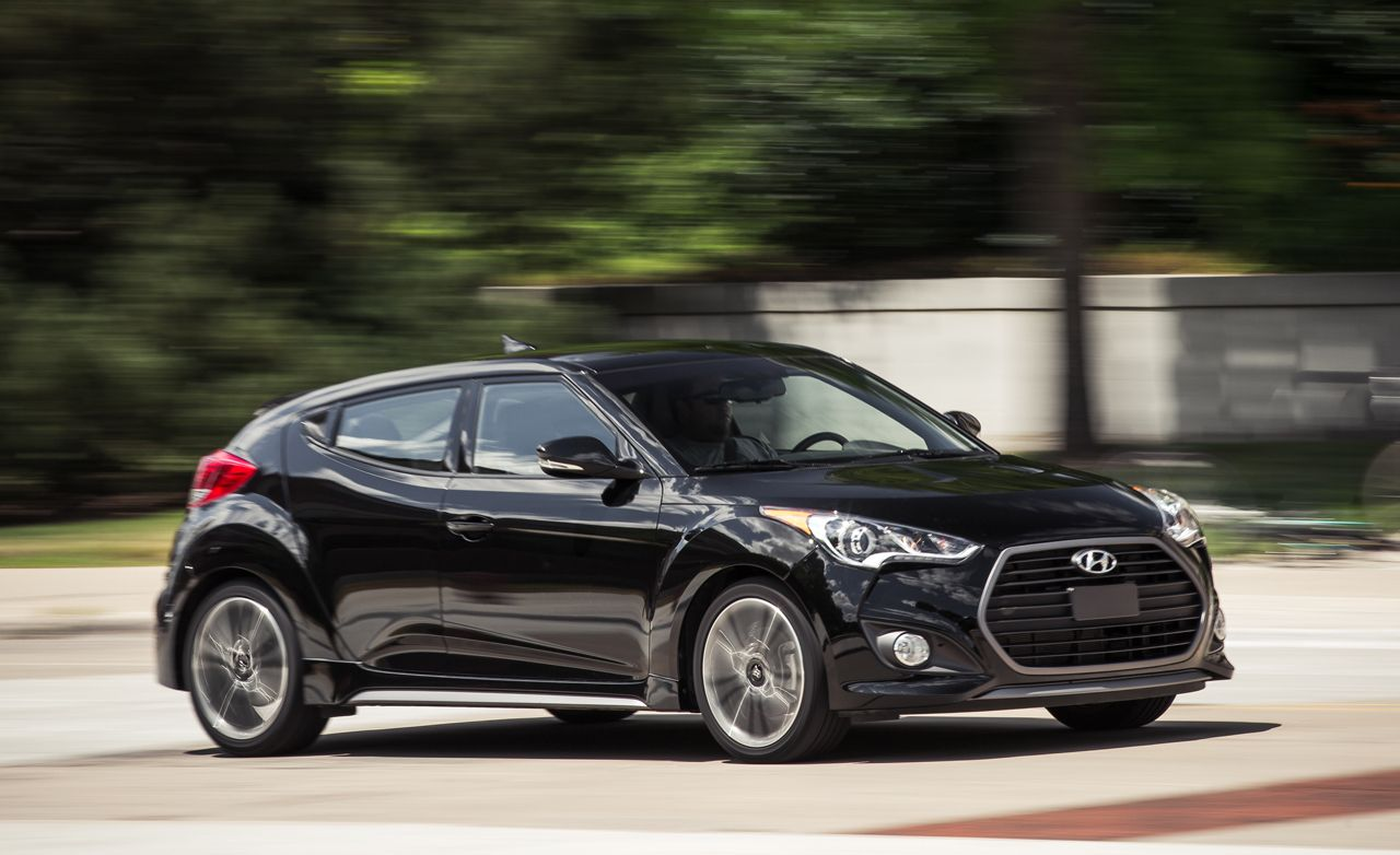 2016 hyundai veloster turbo automatic tested | review | car and driver