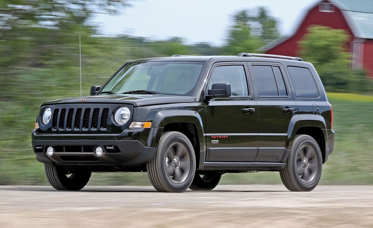 2016 Jeep Patriot 4x4 Automatic