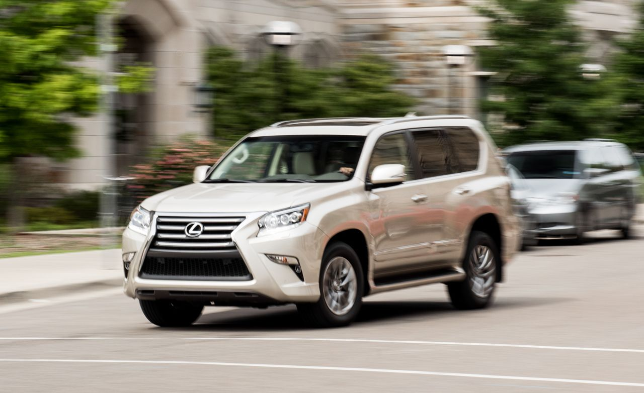 lexus gx reviews lexus gx price photos and specs car and driver. Black Bedroom Furniture Sets. Home Design Ideas