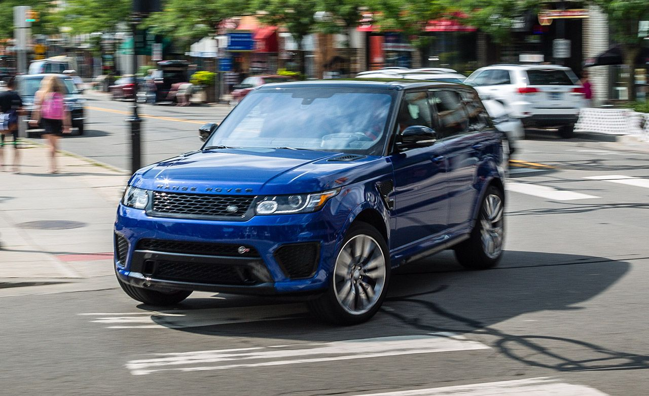 2017 Range Rover Sport Supercharged V 8 Test Review Car And Driver