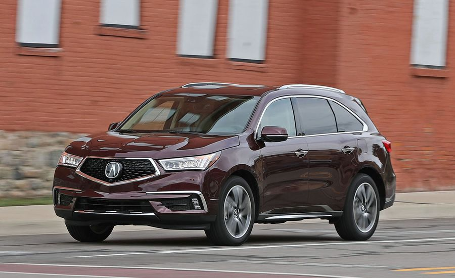 2017 acura mdx sh awd test review car and driver. Black Bedroom Furniture Sets. Home Design Ideas
