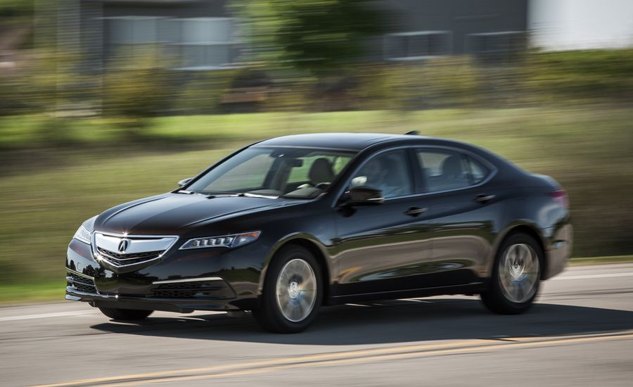 Acura TLX Review Car And Driver - 2018 acura tsx navigation