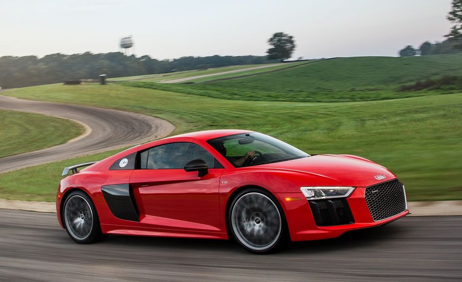 Audi R V Plus Test Review Car And Driver - Audi r8 v10