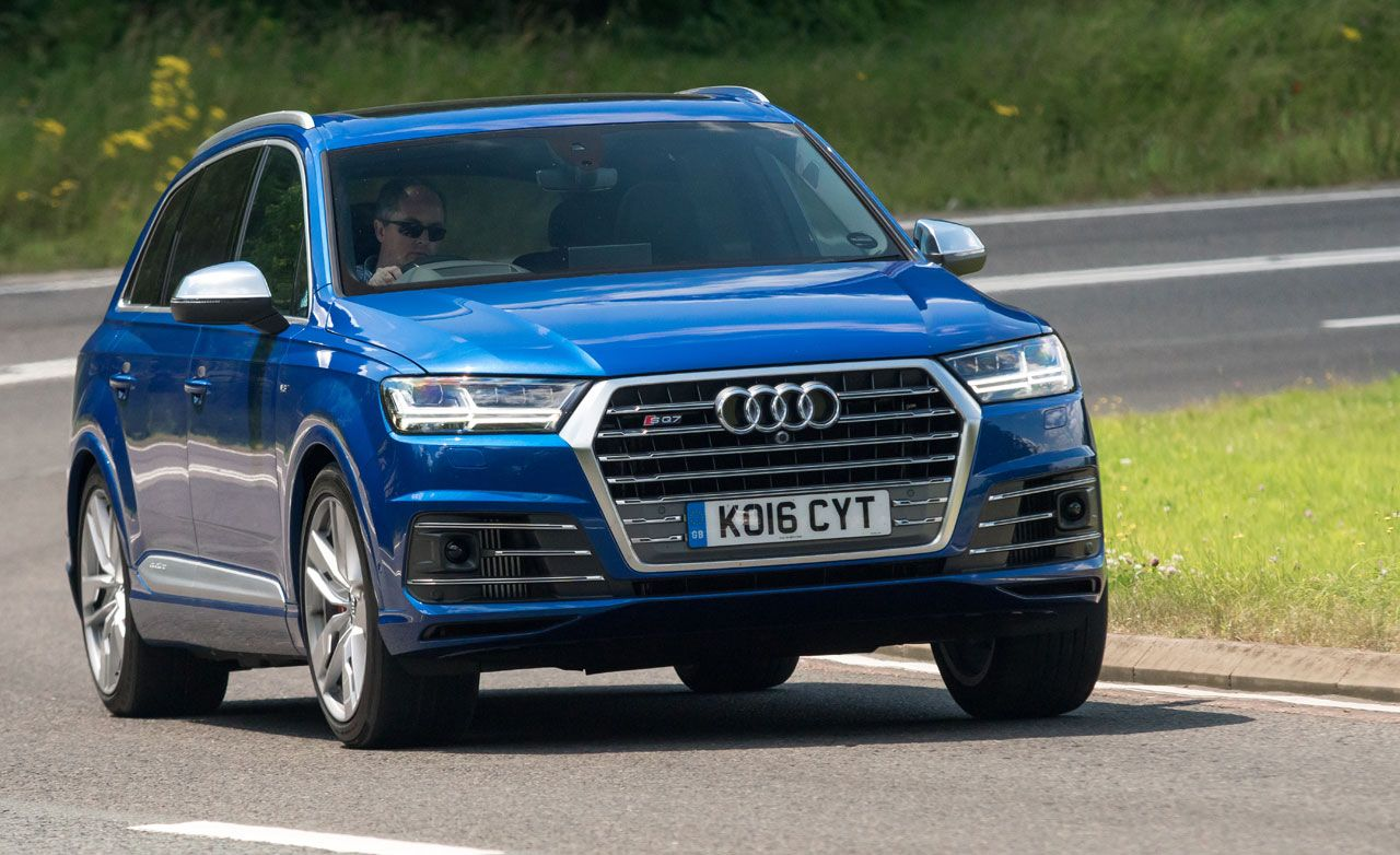 2017 Audi Sq7 Tdi Diesel First Drive 8211 Review 8211 Car And