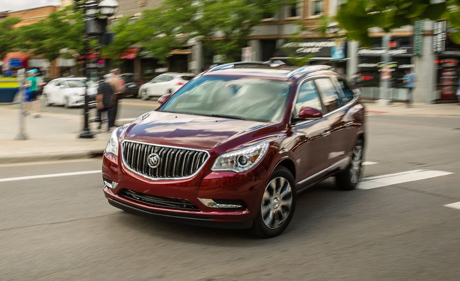 2017 buick enclave review car and driver. Black Bedroom Furniture Sets. Home Design Ideas