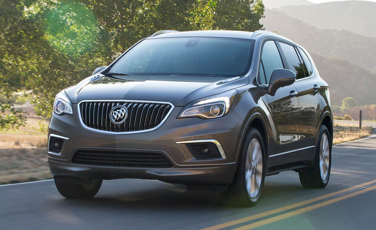 2017 Buick Envision First Drive Review Car And Driver