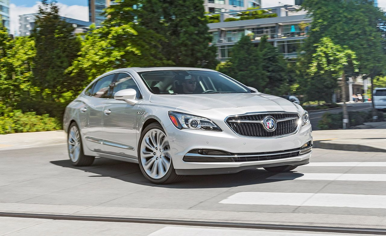 Buick Lacrosse 2017 >> 2017 Buick Lacrosse First Drive Review Car And Driver