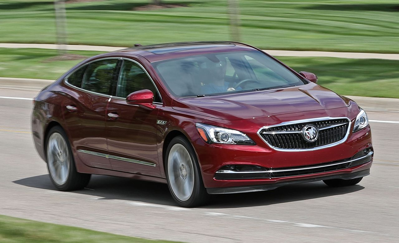 2017 buick lacrosse instrumented test reviews car and. Black Bedroom Furniture Sets. Home Design Ideas