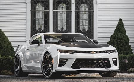 2017 Chevrolet Camaro SS 1LE Manual