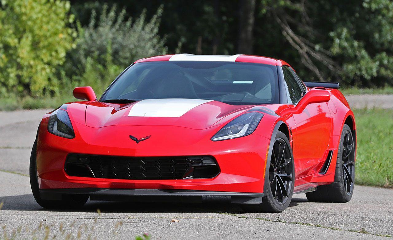 2017 Chevrolet Corvette Grand Sport Manual