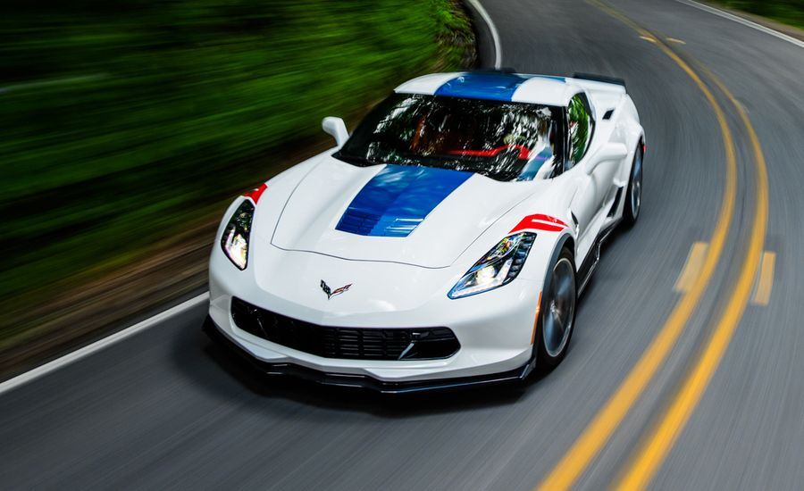 2017 Chevrolet Corvette Grand Sport Z07 Manual