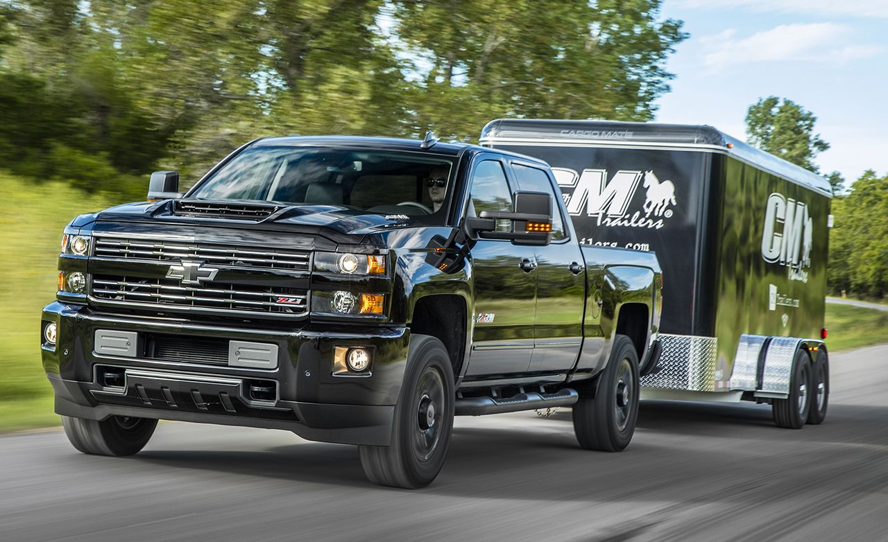 2017 chevrolet silverado hd duramax diesel drive review car and driver