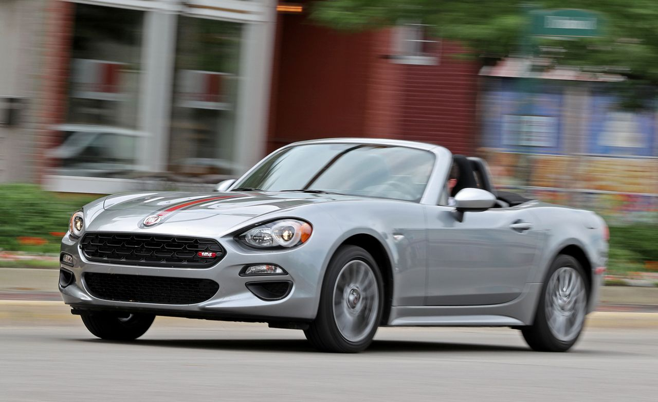2017 Fiat 124 Spider Manual Tested Review Car And Driver