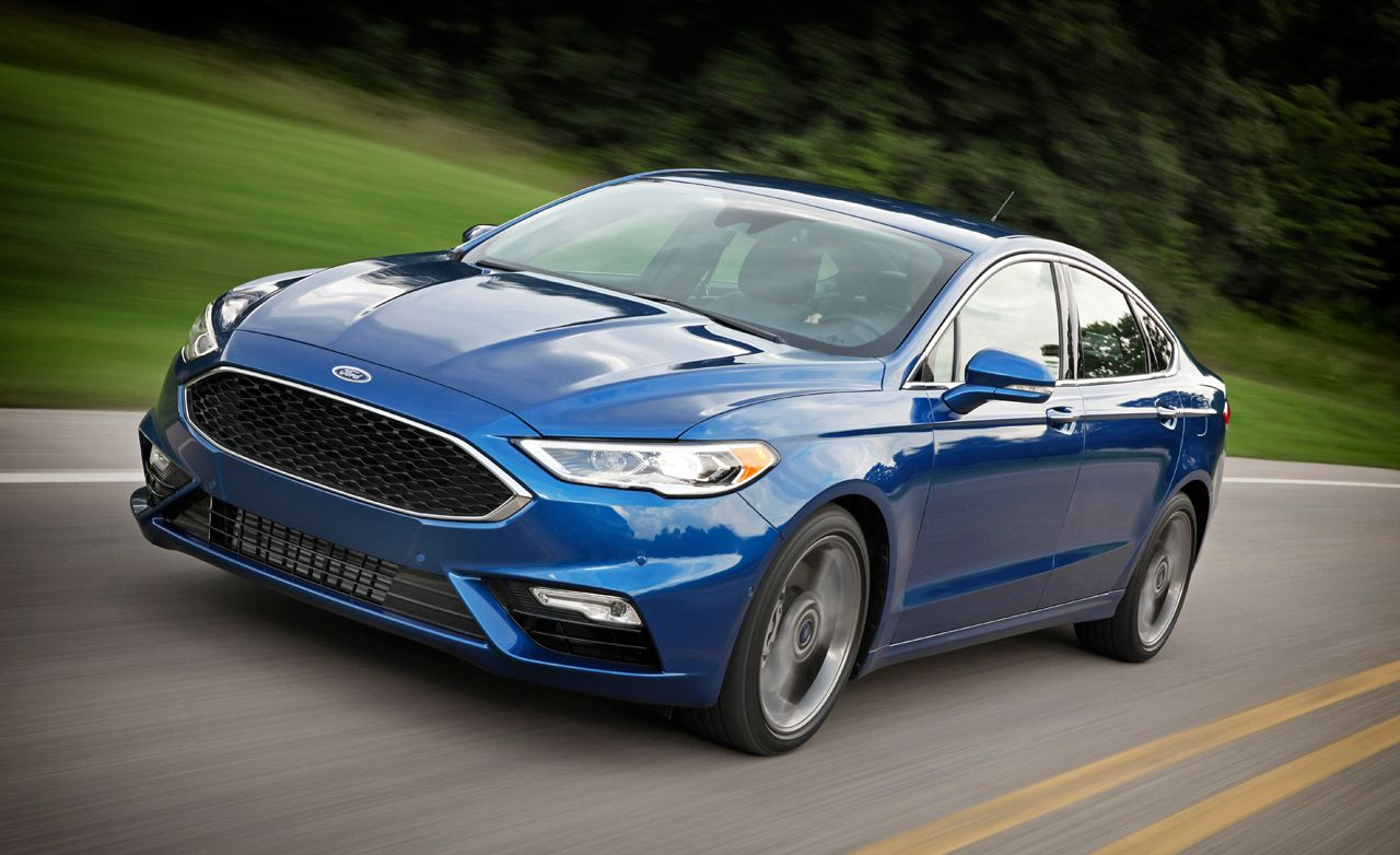 2017 Ford Fusion Sport First Drive Review Car And Driver
