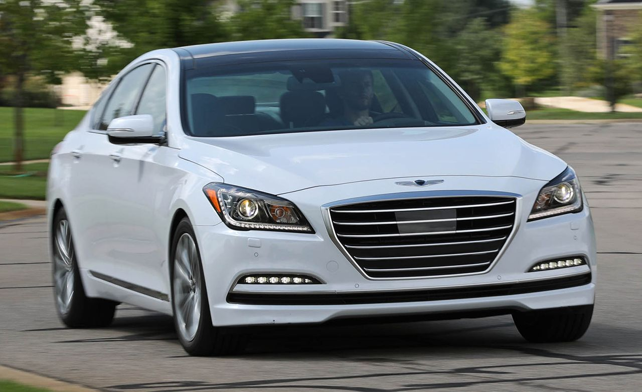 2017 genesis g80 3 8 awd test review car and driver. Black Bedroom Furniture Sets. Home Design Ideas
