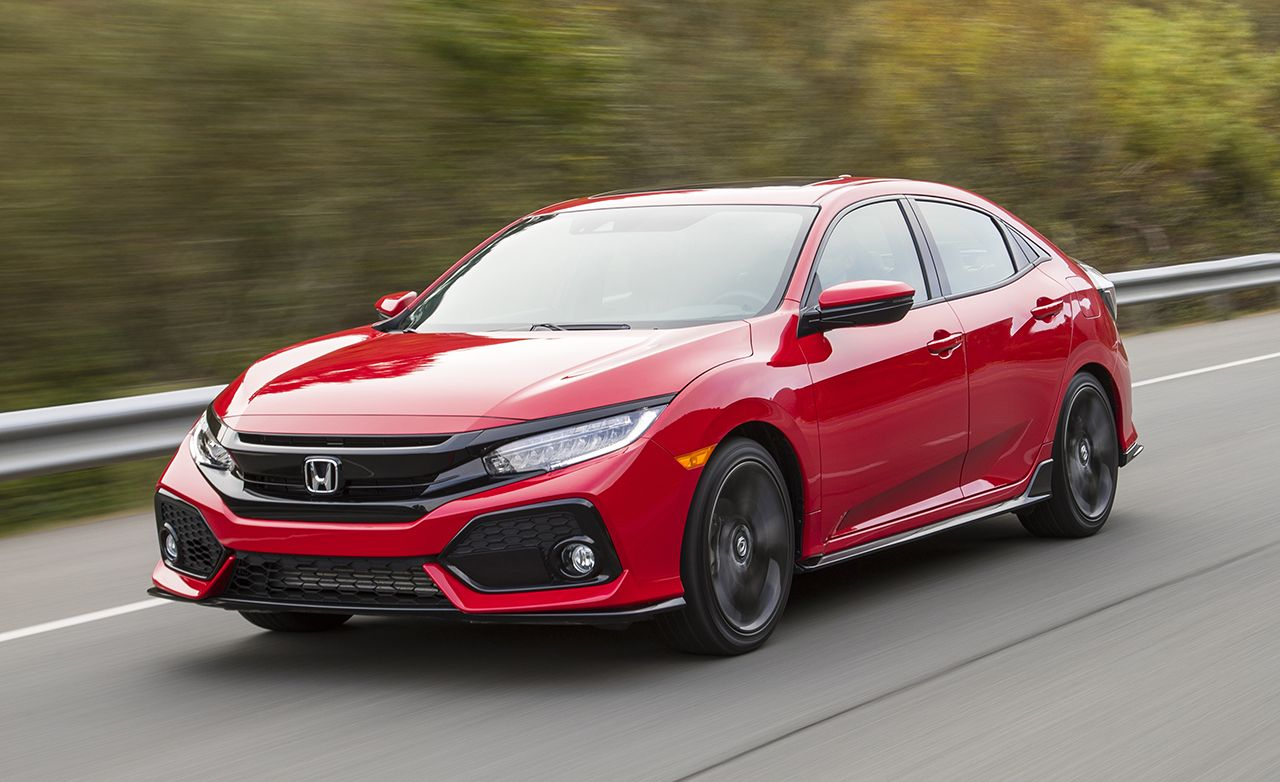 2017 Honda Civic Hatchback Review Car And Driver