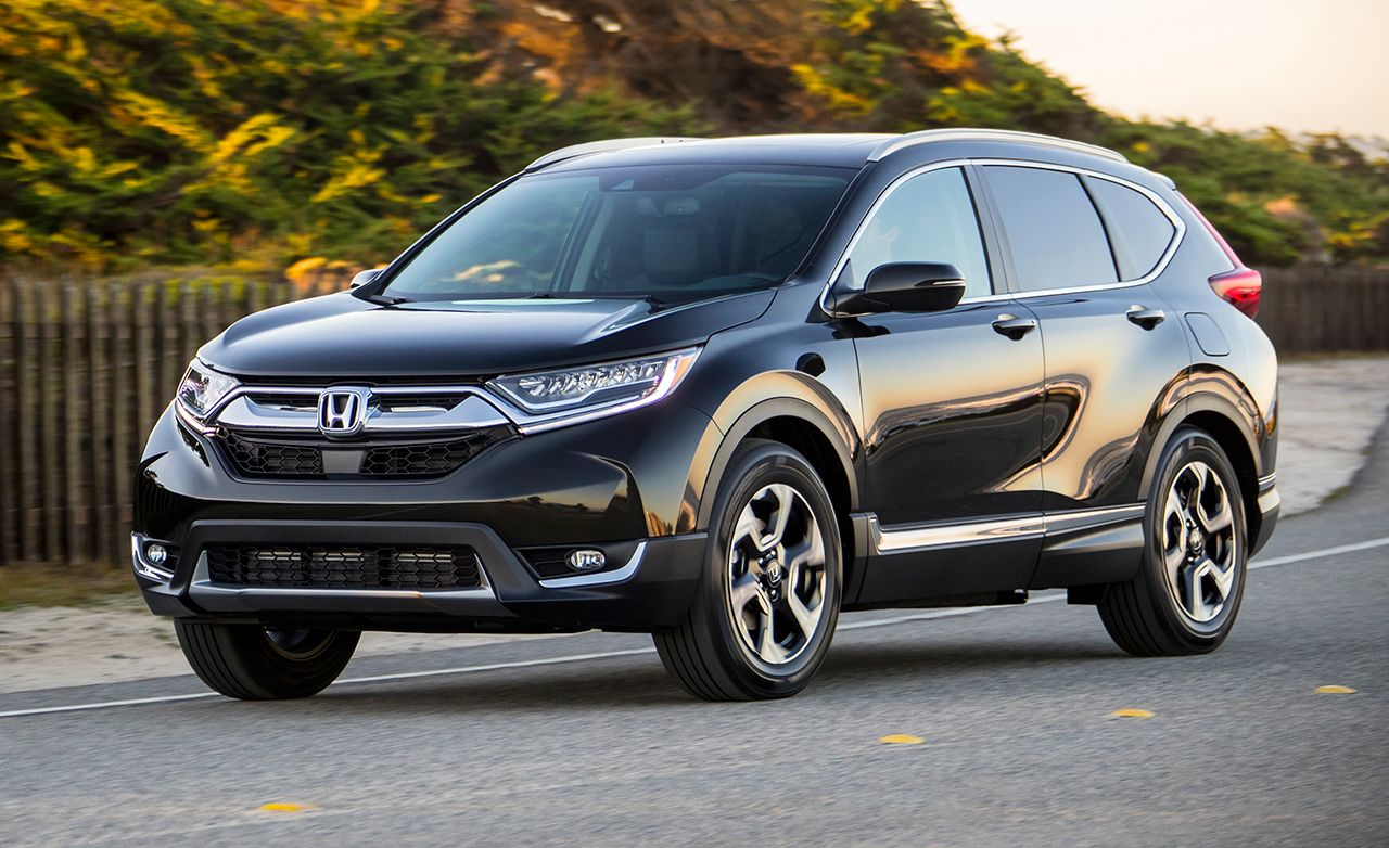 2017 honda cr v first drive review car and driver for Honda car app